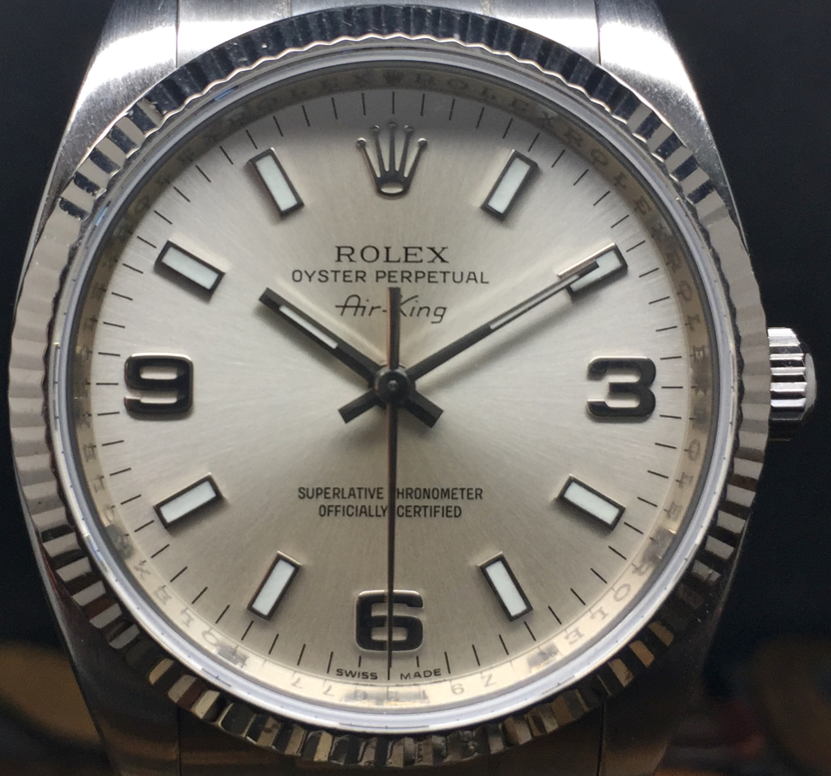 2008 Rolex Air King 114234 With Papers World Wide Watches