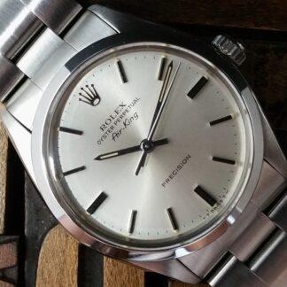 1982 Rolex Air King Precision 5500 Silver Dial