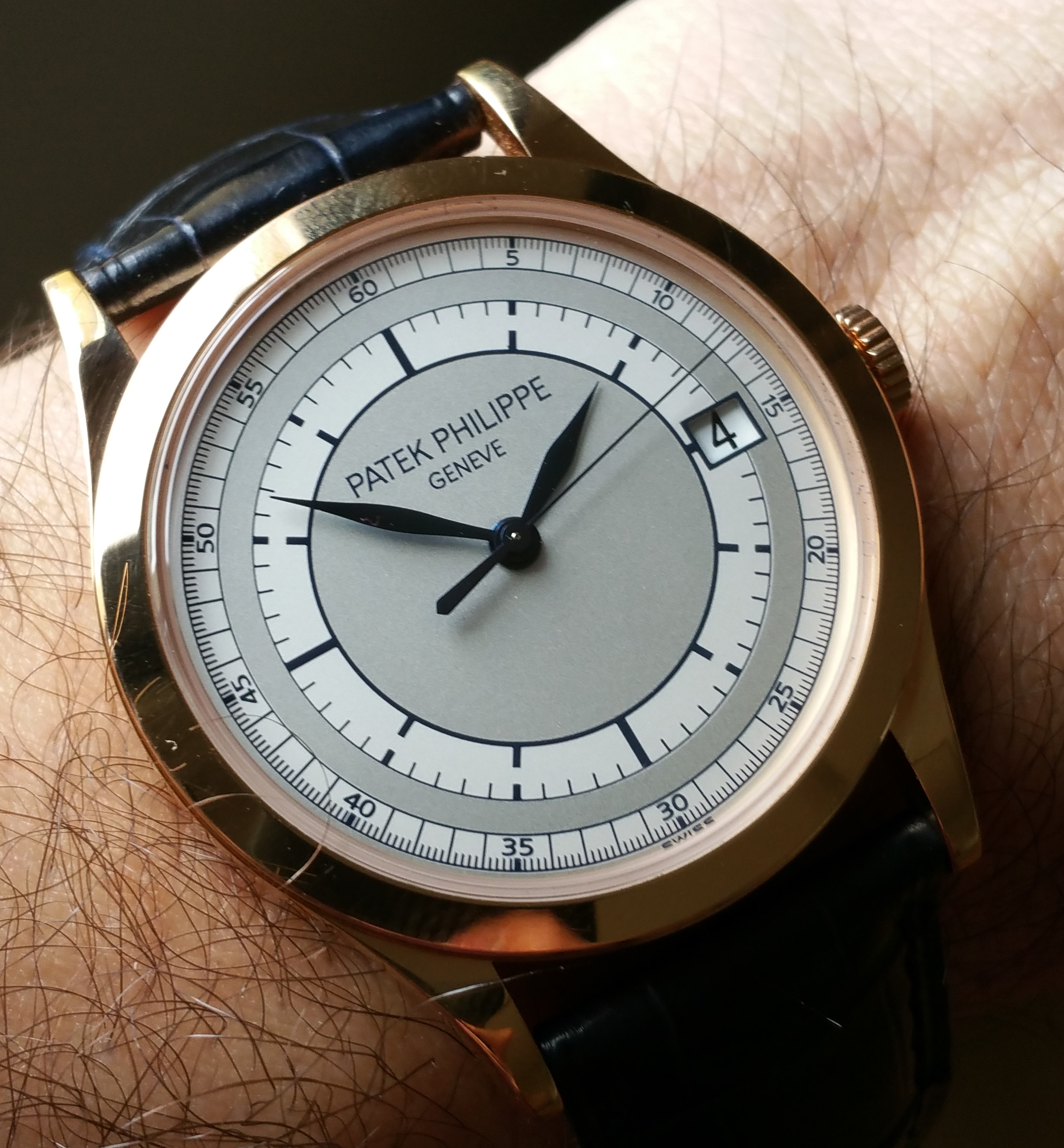 2007 Patek Philippe 5196R-001 Rose Gold Sector Dial with Box & Papers