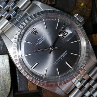 1970 Rolex Datejust 1603 Grey Dial