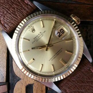 1968 Rolex Datejust Steel & Gold 1601