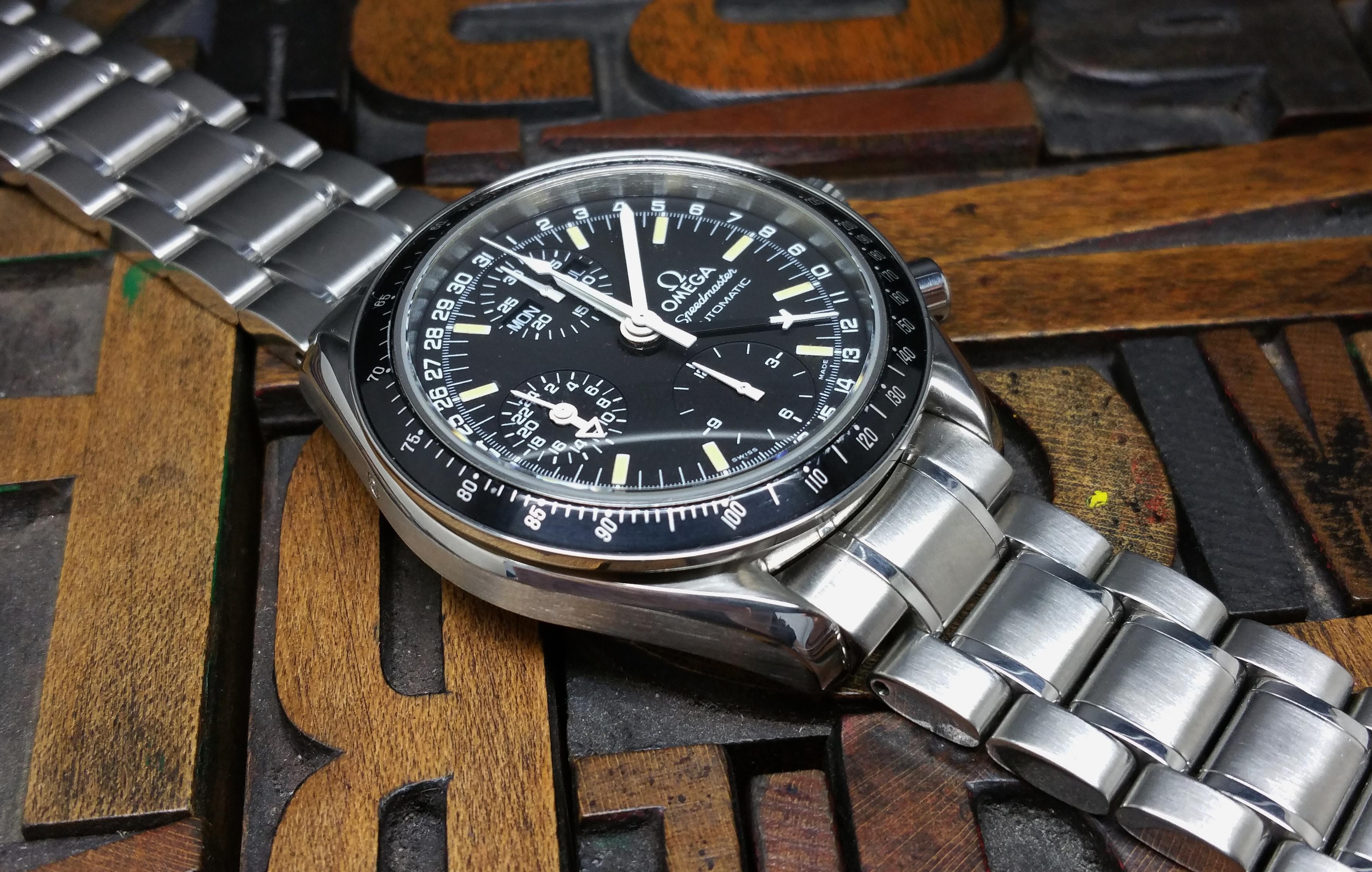 1999 Omega Speedmaster 3520.50.00 Triple Date Mark 40