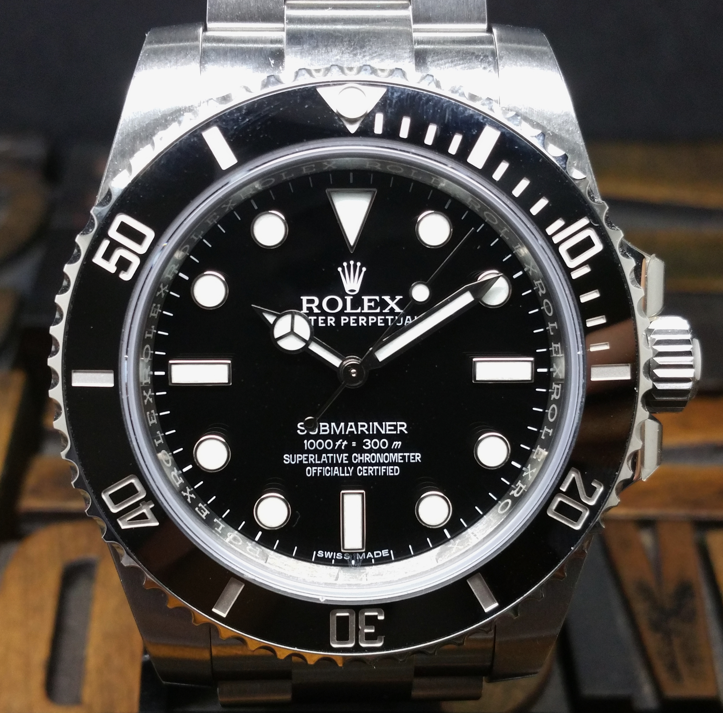 2018 Rolex Submariner 114060 NEW