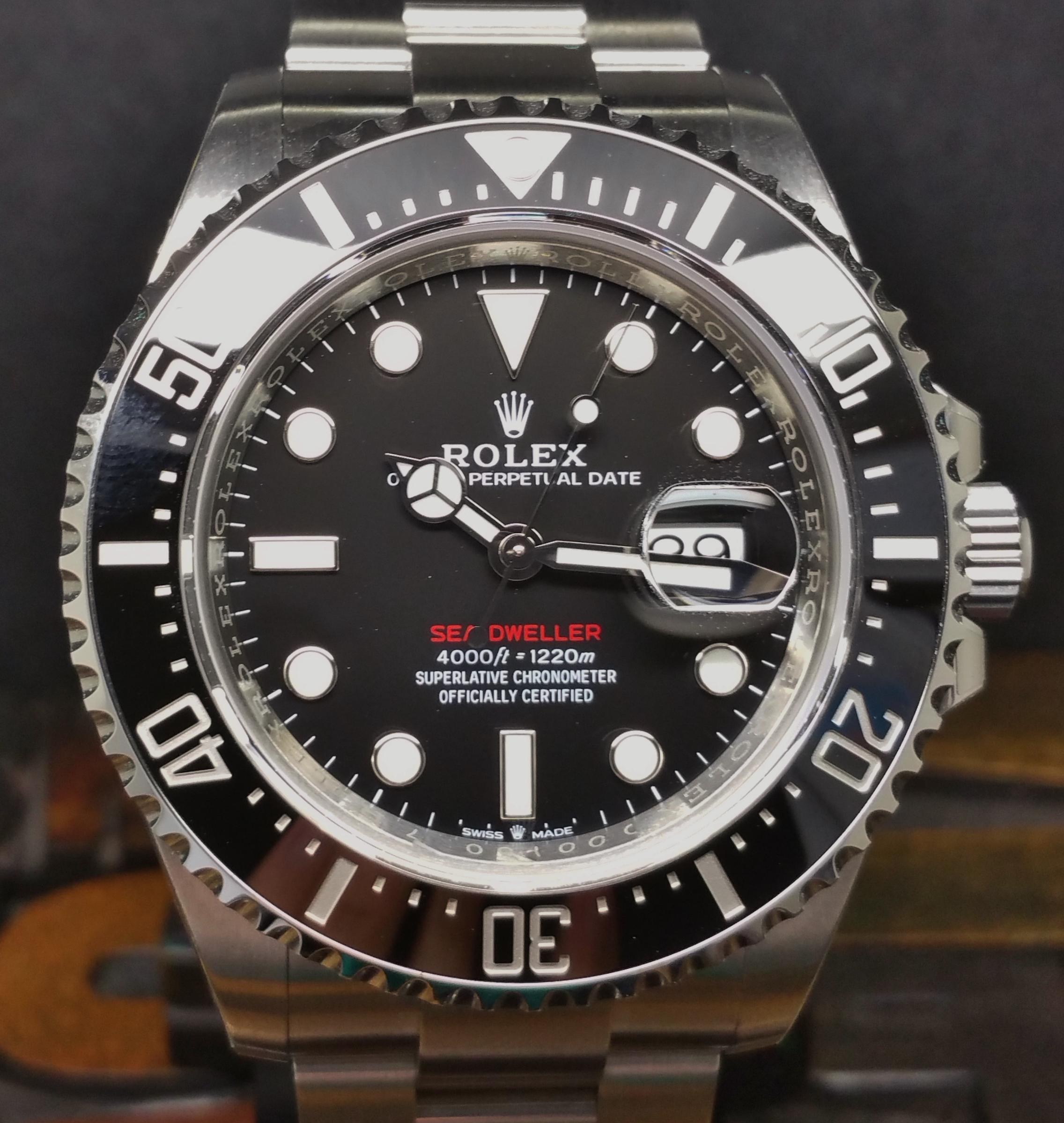 2018 Rolex Sea-Dweller Red 126600 50th Anniversary NEW