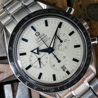 2010 Omega Broad Arrow 38512012 Polar Dial