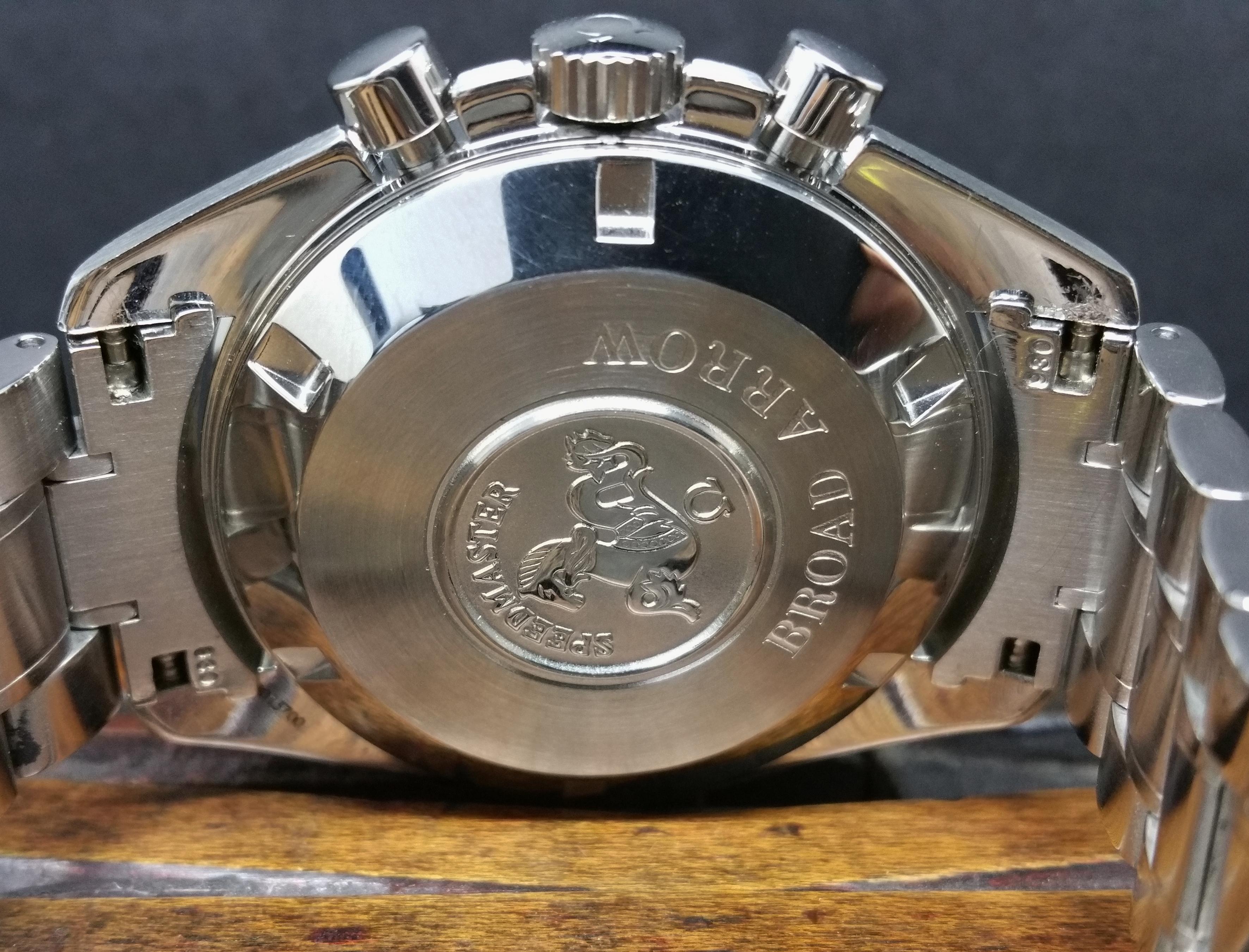 2010 Omega Broad Arrow 38512012 Polar Dial