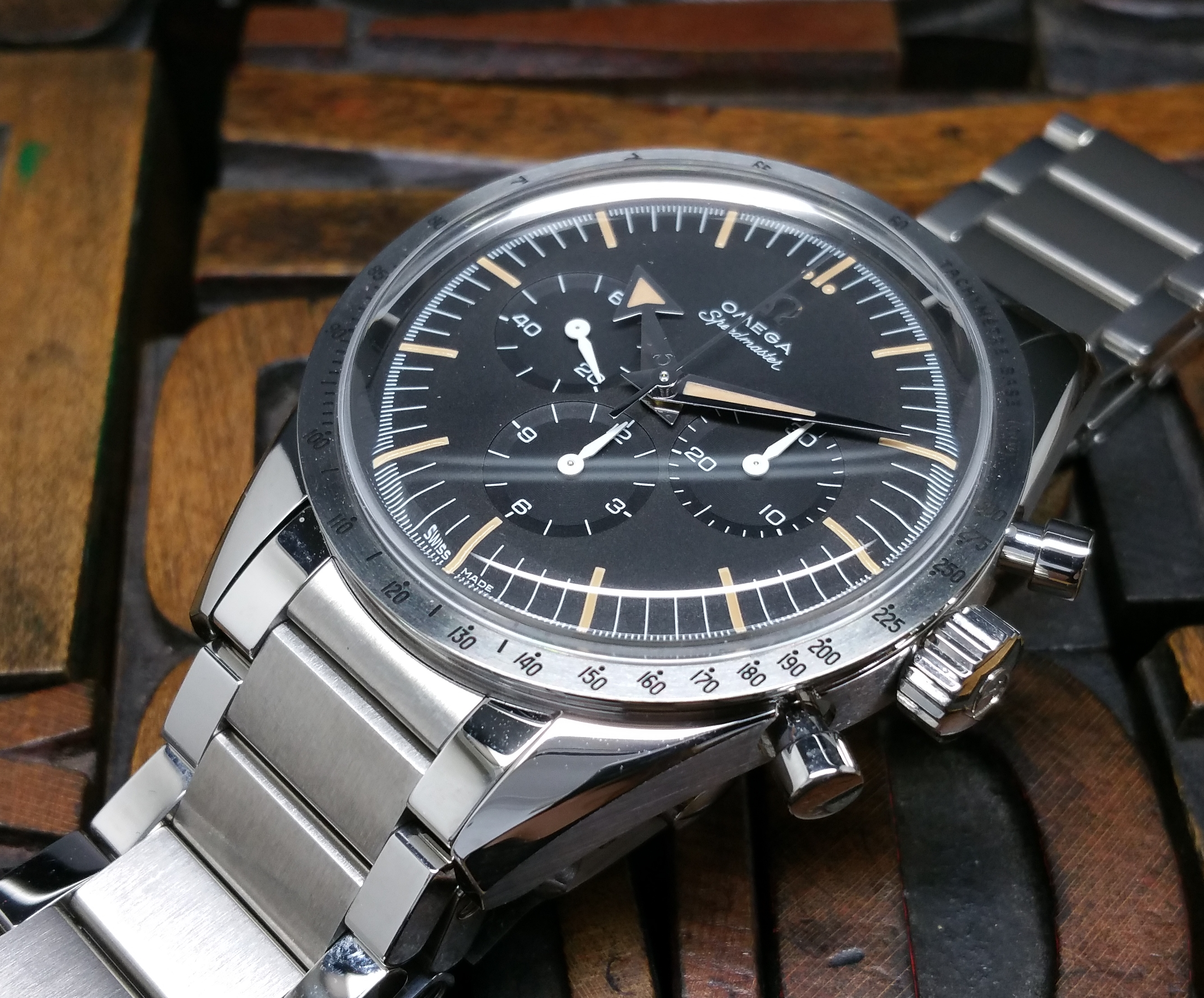 2017 Omega Speedmaster 1957 Trilogy 60th 31110393001001 NEW