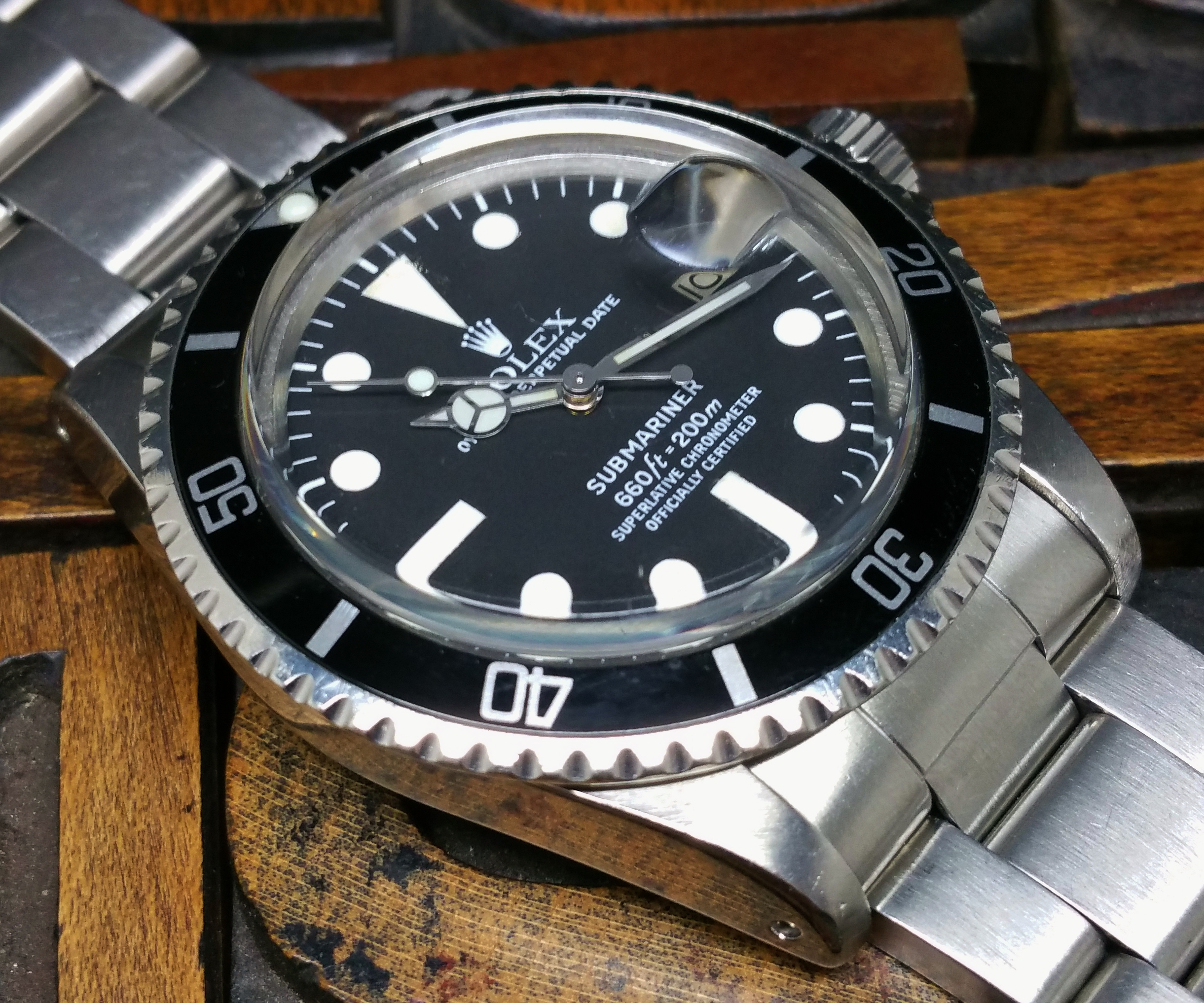 1978 Rolex Sumariner 1680
