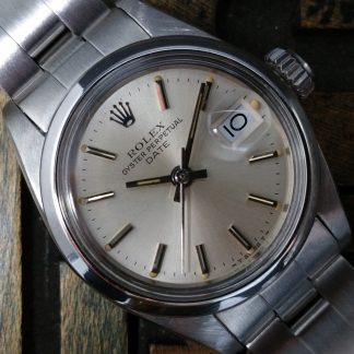 1981 Rolex Date Lady 6916 Silver Dial
