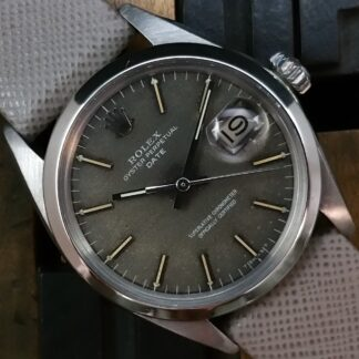 1969 Rolex Date 1500 Grey Tropical Dial