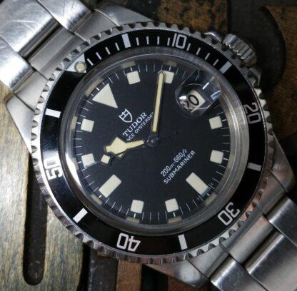 1980 Tudor Submariner Snowflake 94110 Black Dial